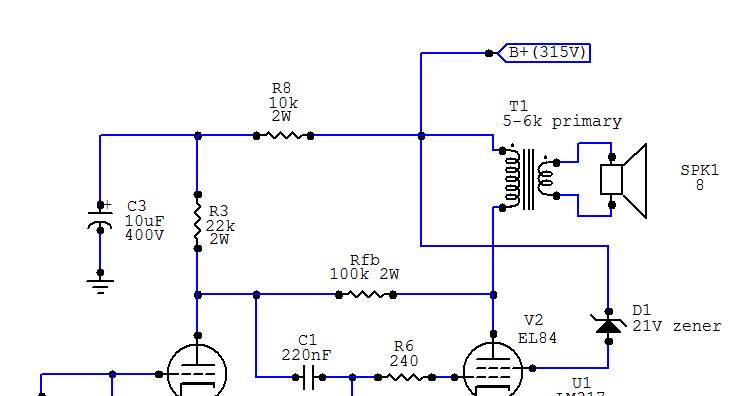 RH Amplifiers  RH84 amplifier  revision 2