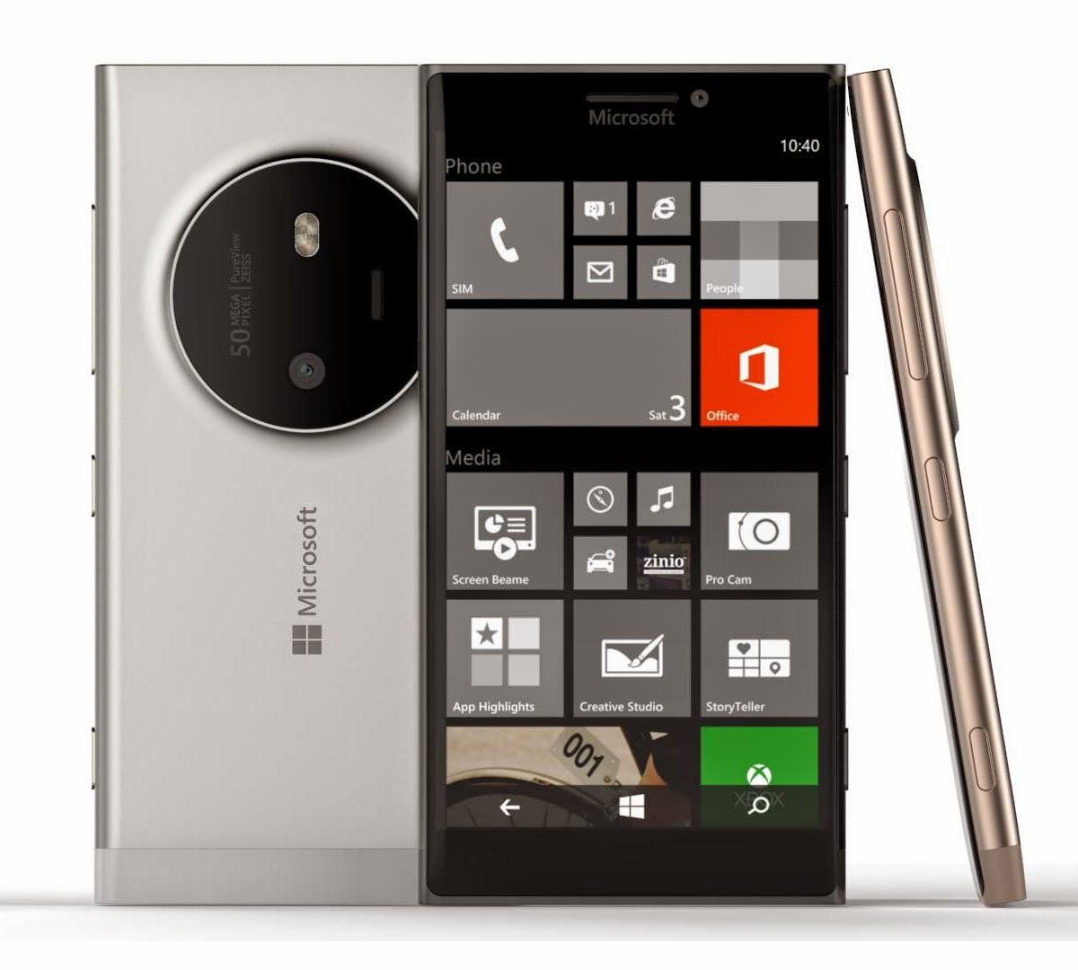 Harga Microsoft Lumia 1030 dan Spesifikasi Lengkap