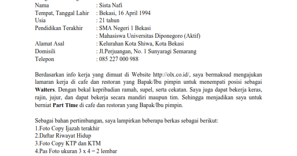 contoh surat kuasa pribadi wisata dan info sumbar