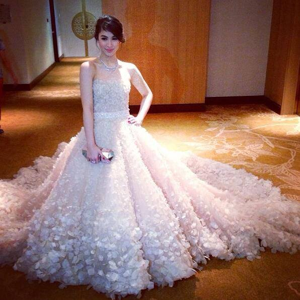 Julia Barretto Julia Barrettos Gown At Star Magic Ball 2013