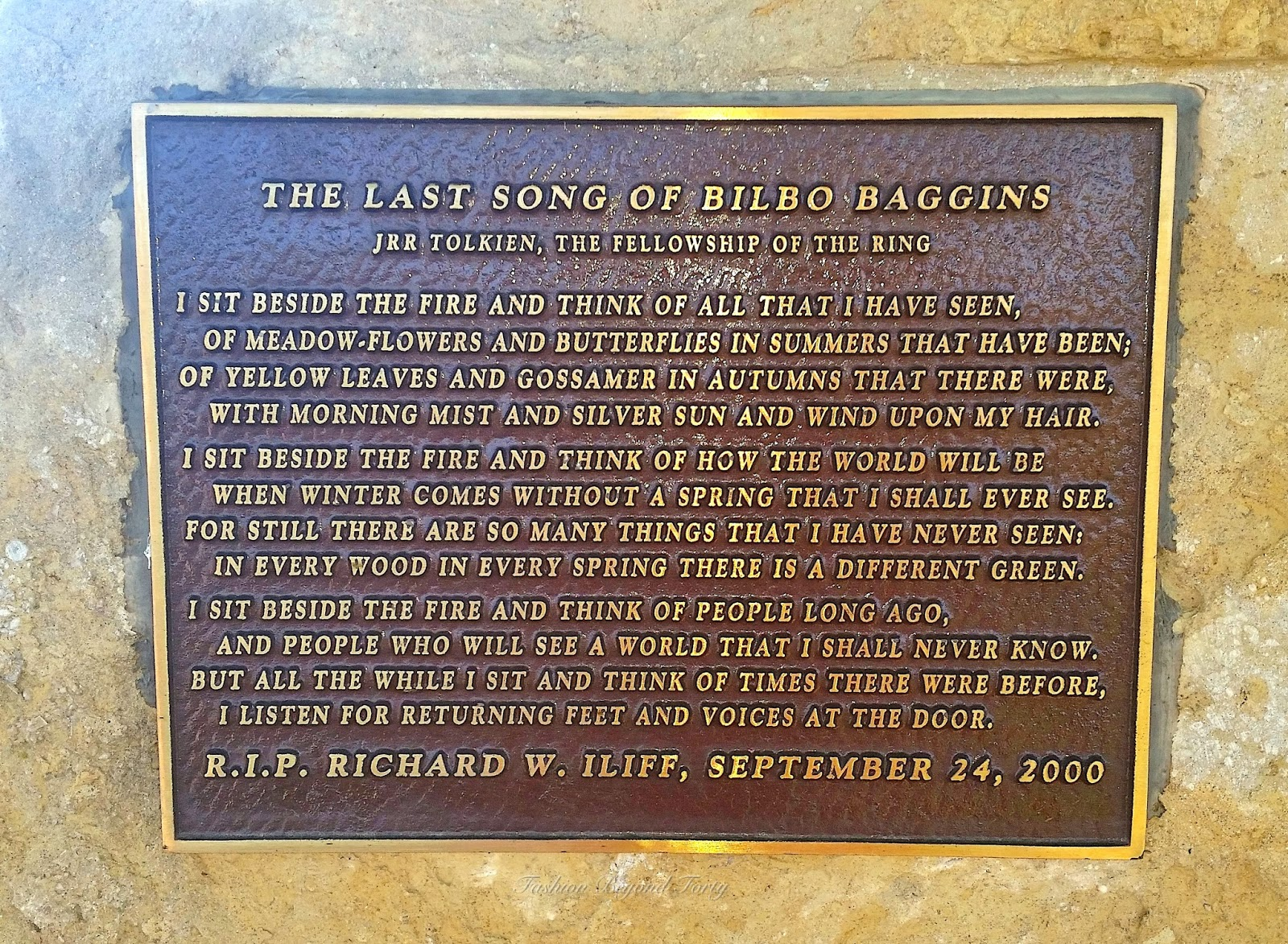 The Last Song of Bilbo Baggins at Iliff Commons