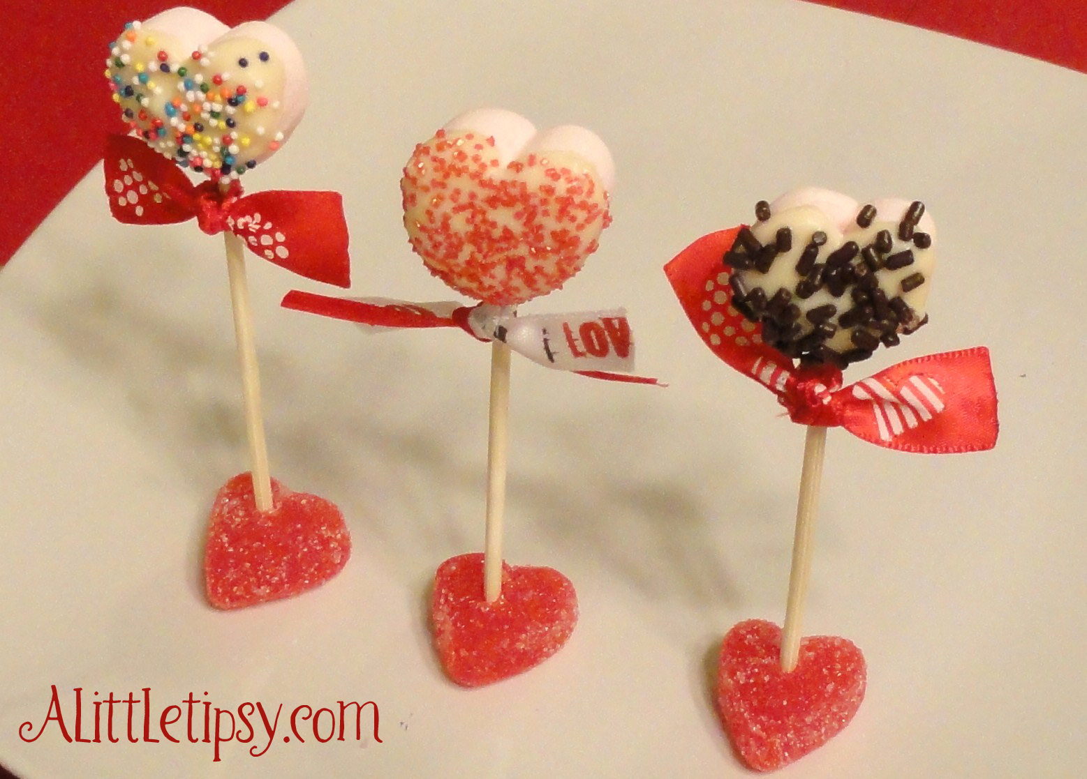 Marshmallow Pops - A Little Tipsy