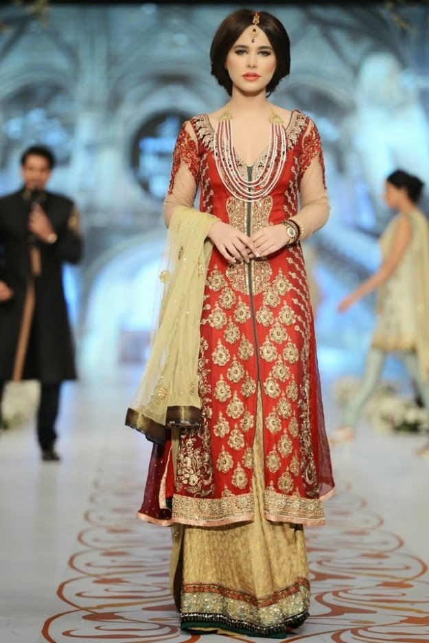 Asifa and Nabeel Fashion Dress Designers Bridal Collection at ...