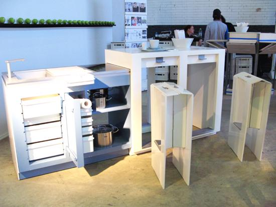 Muebles de cocina modernos y funcionales for Muebles de cocina funcionales