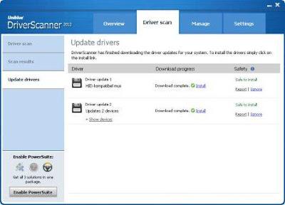 Uniblue DriverScanner 2012 v4.0.4.1