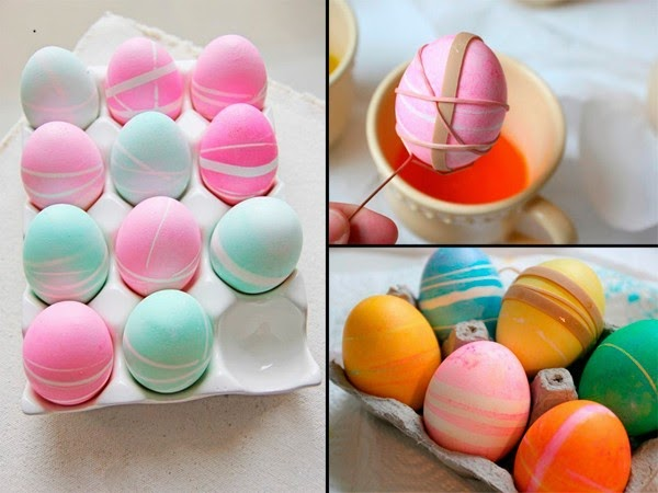 creating beautifully-colored eggs