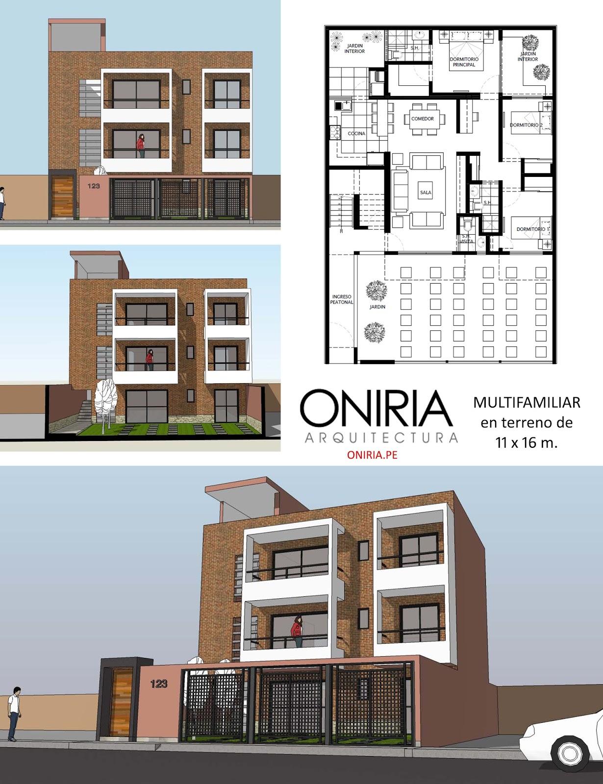 Cristian campos dise o de vivienda multifamiliar en for Vivienda minimalista planos