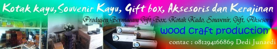 kotak kayu,Souvenir Kayu, Gift box, Aksesoris dan Kerajinan