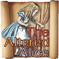 I received an HONORABLE MENTION over at ALTERED ALICE