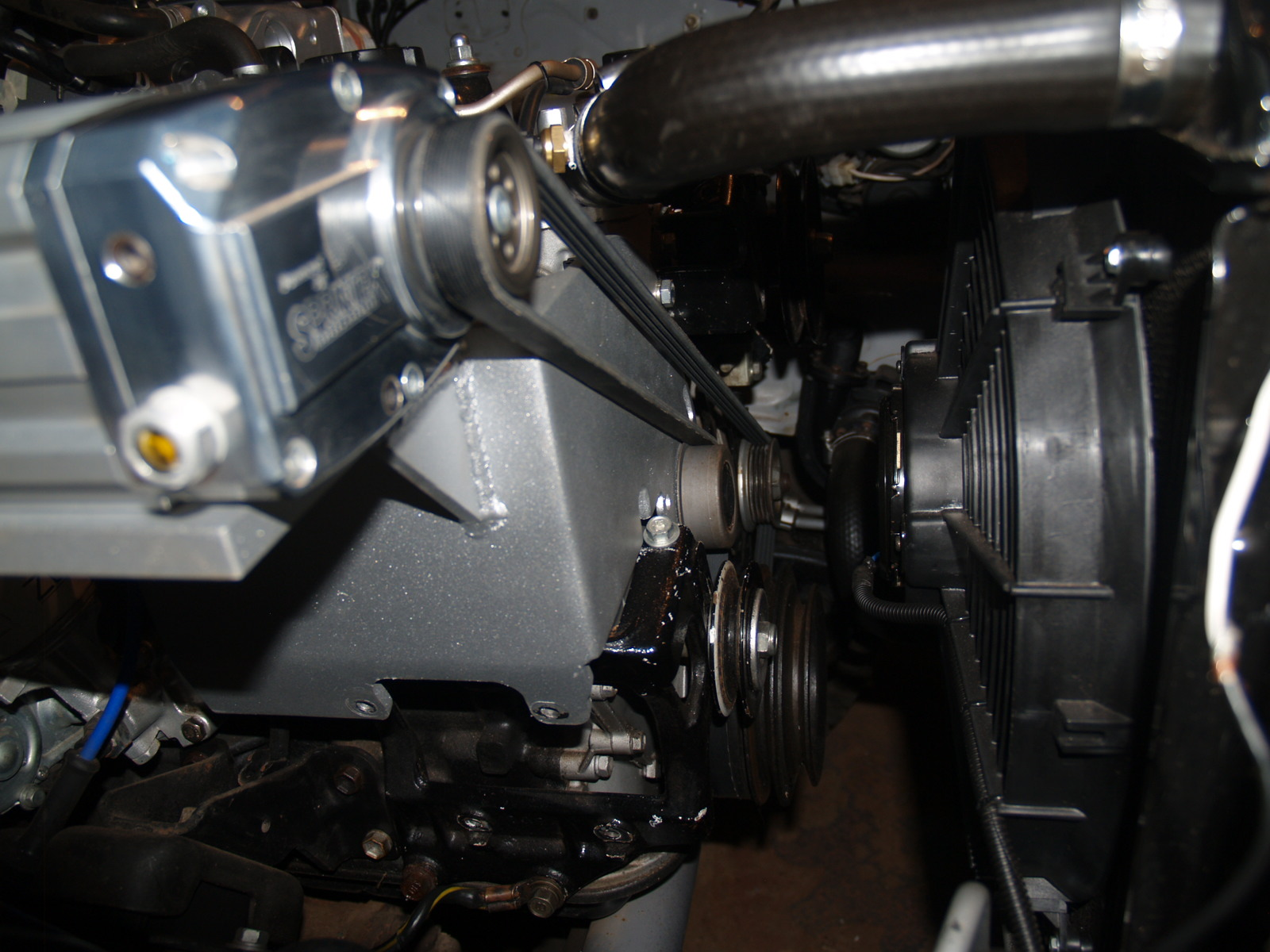 4y Supercharger Toyota Supercharged Rebuild How Timing Engine The Painted Finish Is Baked On 650 Hi Temp Magnesium Alloy