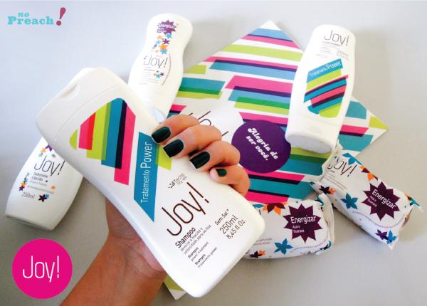 sorteio Kit de beleza Joy  shampoo