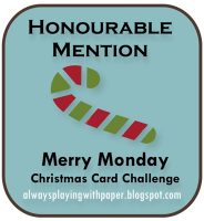 Merry Monday Christmas Card Challenge #39