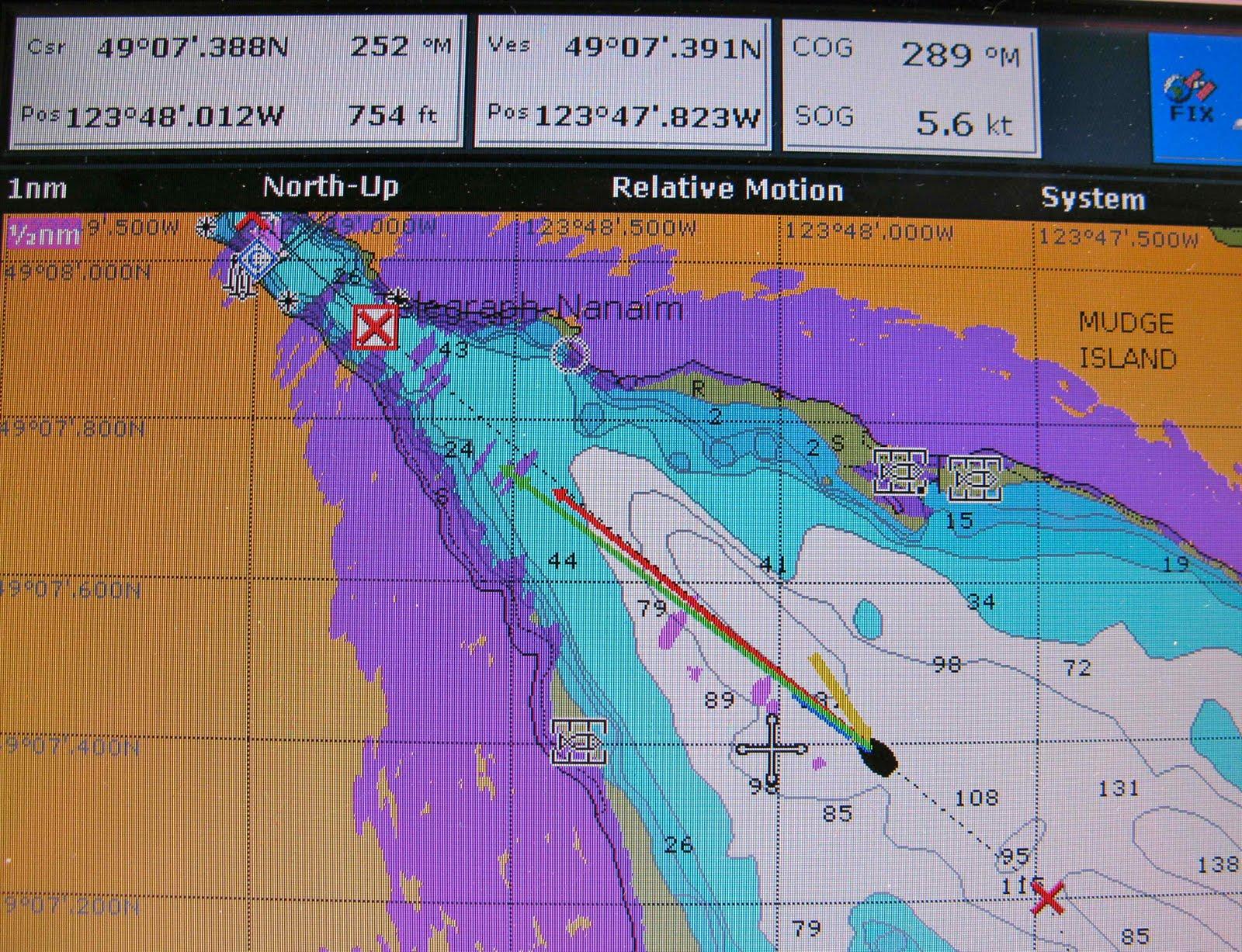 Cupcake my Catalina 28 MkII sailboat: Transited Dodd Narrows - Ta ta ta Da!
