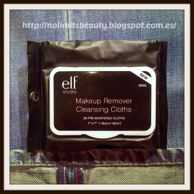ELF Cosmetics, Makeup Remover Cleansing Cloths, 20 Pre-Moistened Cloths