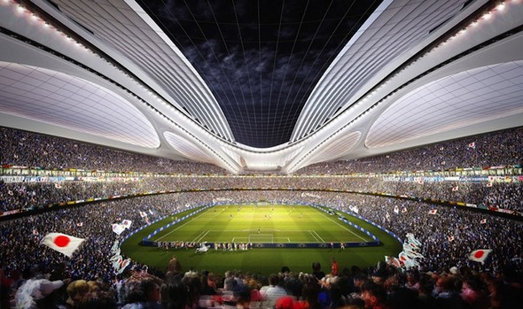 ملعب اليابان الحديث New-Sports-Stadium-in-Tokyo-2