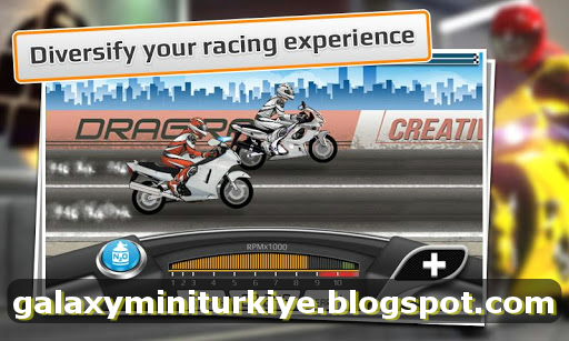 Drag Racing: Bike Edition MOD APK - PARA HİLELİ « Galaxy Mini