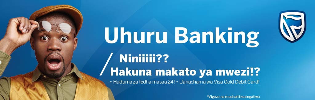 Stanbic Bank - Uhuru Banking - 5th Nov. 2018