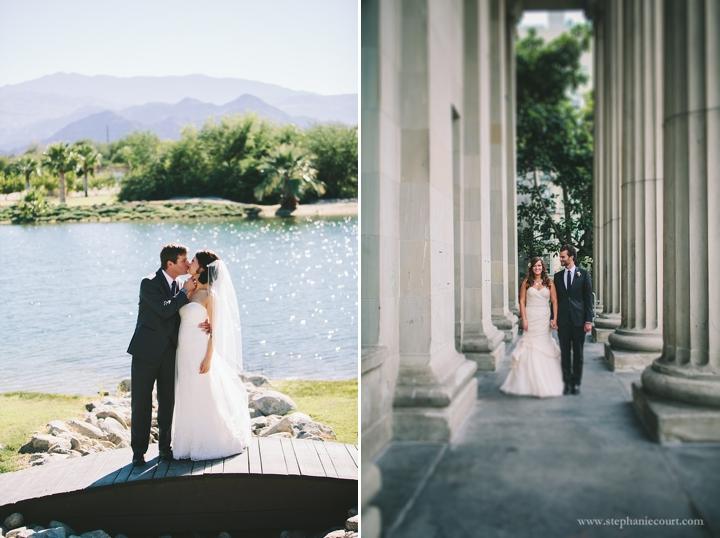 """modern bride and groom wedding day portraits"""