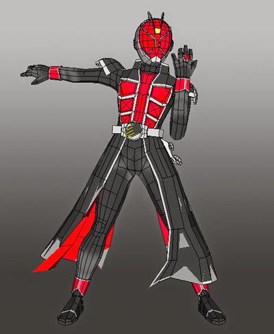 Kamen Rider Wizard Papercraft