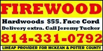 Firewood--Hardwoods $55. Face Cord