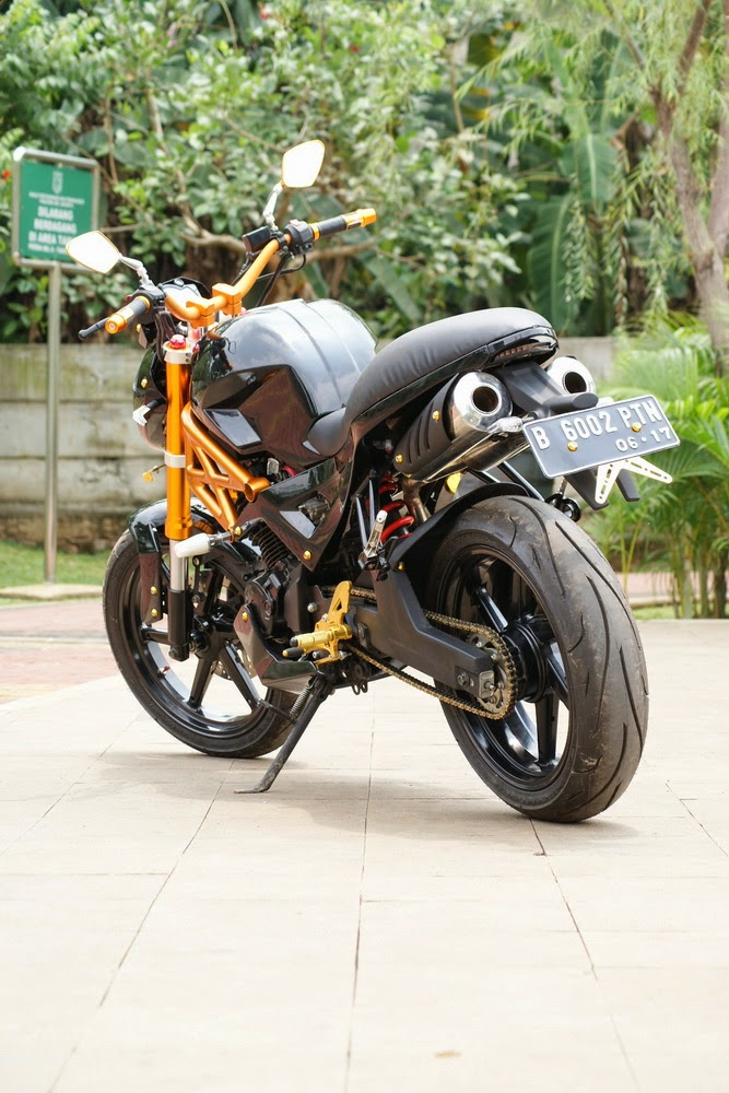 Info Modifikasi Motor Yamaha Byson