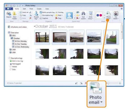 Email and Share Photos with Windows Essentials