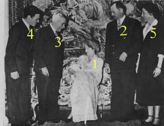 Baptême du prince Michel de Ligne