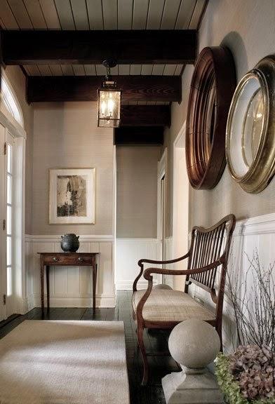 Neutral Foyer Colors : Blanco interiores não se esqueçam dos corredores