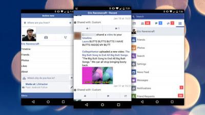 facebook, facebook lite , facebook app