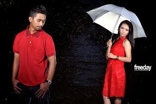 prewedding hujan