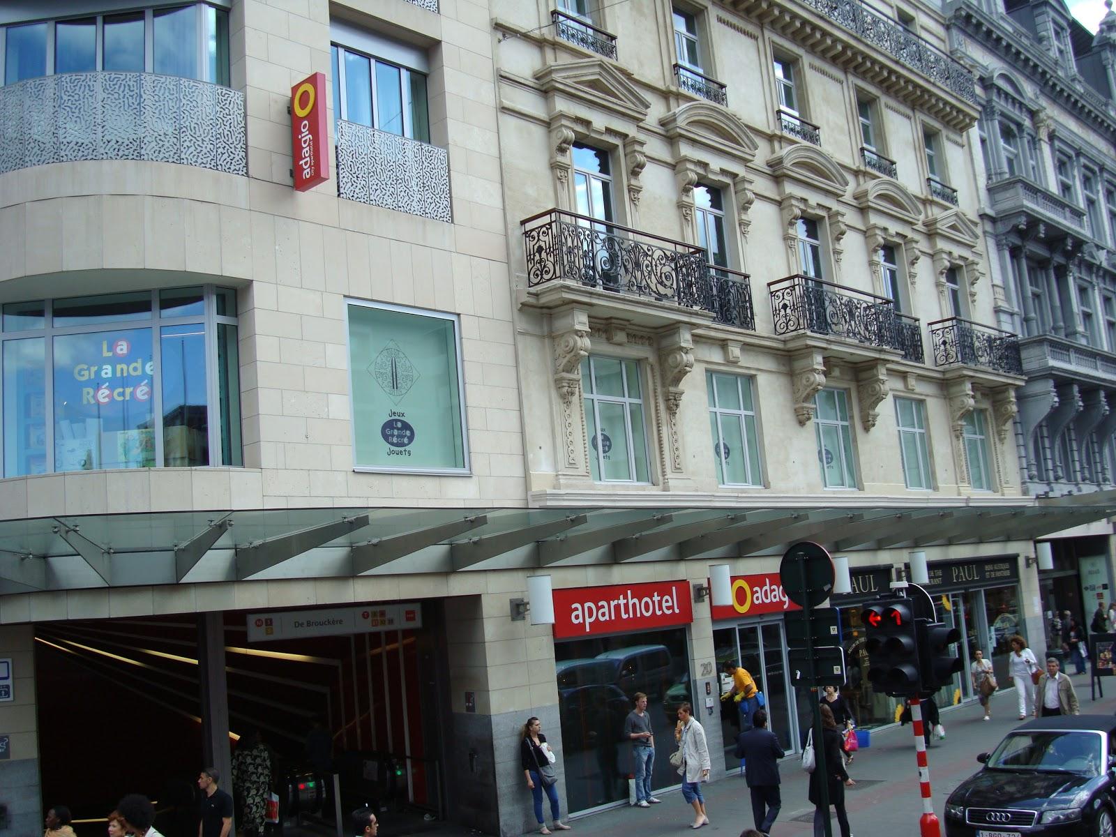 Mundinho afora pr dio do nosso hotel adagio centrum for Adagio amsterdam