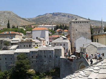 MOSTAR, zona reconstruida.