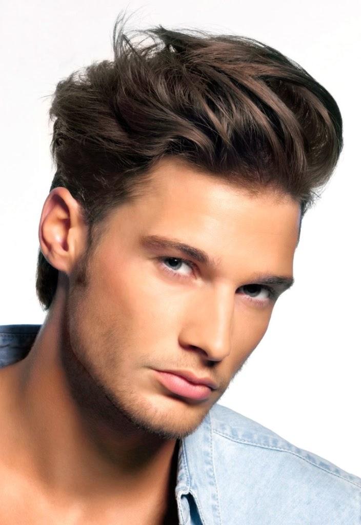 Gaya Rambut Casual Medium 2015 Tren Men Hairstyle