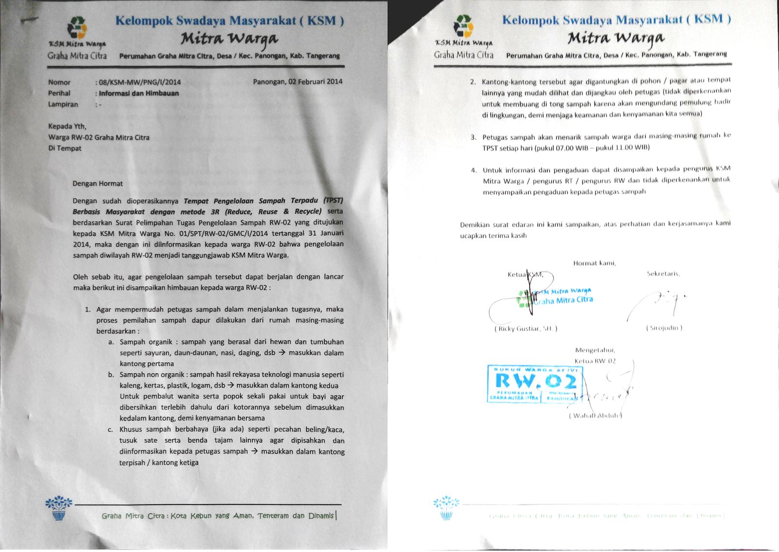 TPST 3R Mitra Warga GMC: Alur Kerja Baku Petugas di TPST