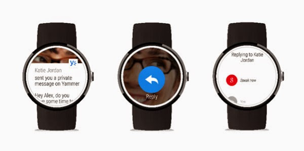 Microsoft updates Yammer with Android Wear support