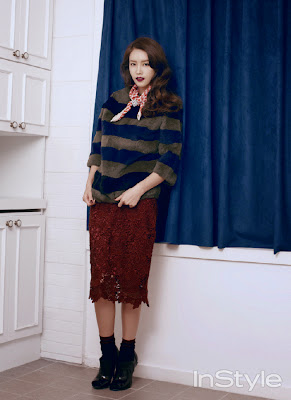 Chae Jung Ahn - InStyle Magazine January Issue 2014