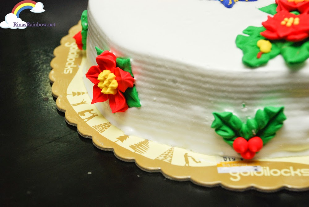 Rina s Rainbow: I Decorated My Own Goldilocks Christmas Cake!