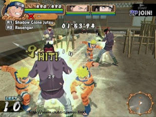 LINK DOWNLOAD Naruto Uzumaki Chronicles 2 GAMES PS2 FOR PC CLUBBIT