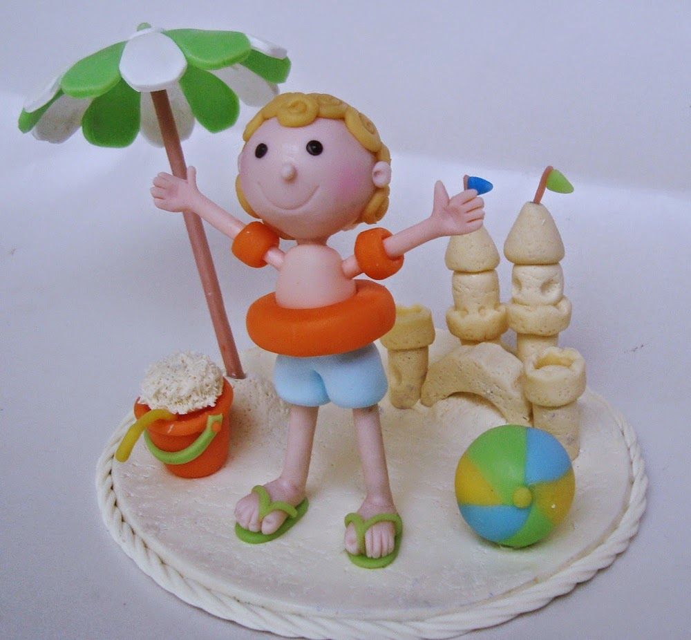 topo de bolo verão