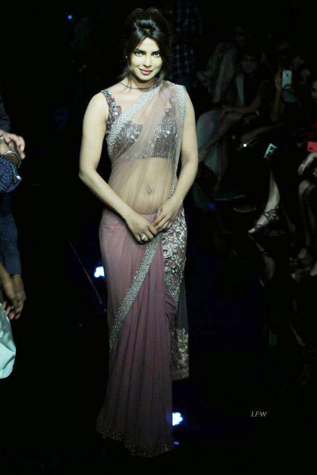 Priyanka Chopra At Lakme Grand Finale 2014