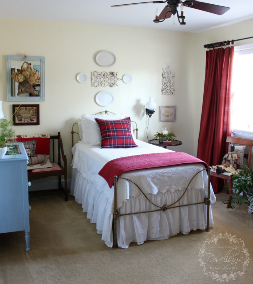 Changes in the guest room dwellings the heart of your home for Farmhouse guest bedroom