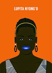 LUPITA NYONGO'O INSPIRES FAN ART: