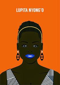 LUPITA NYONGO'O INSPIRES FAN ART: