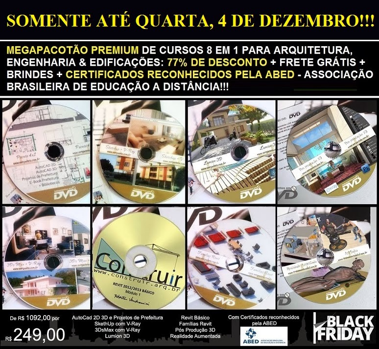 Saldão Black Friday 77% OFF!! Cursos em DVD com certificado!!!