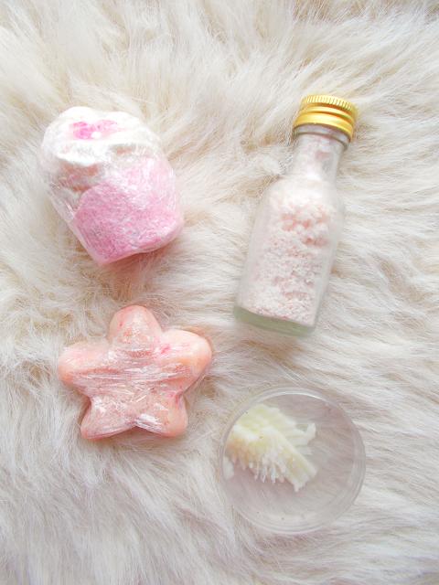 bourgeons et savons bath bombs melts lip lotion himalayan pink salt sugar small irish business
