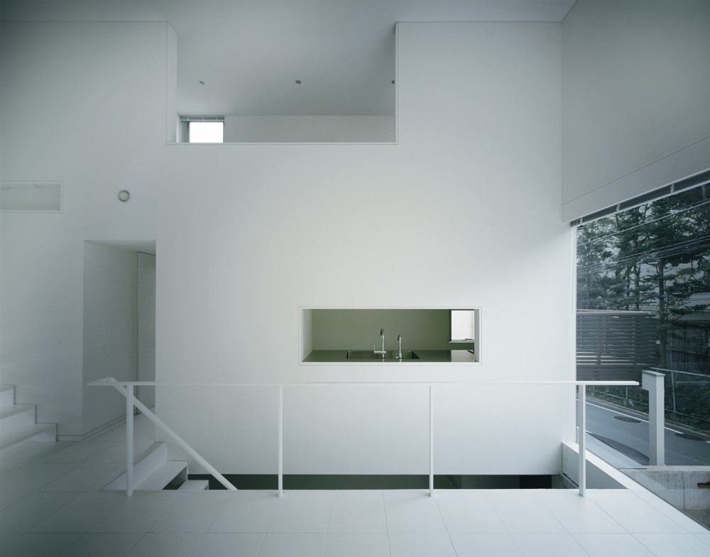 Beautiful Houses Industrial Design Minimalist House Tokyo Japan Plans