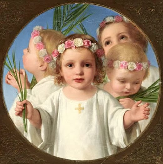 BEAUTÉS DE L'ÉGLISE CATHOLIQUE: SON CULTE, SES MOEURS ET SES USAGES; SUR LES FÊTES CHRÉTIENNES - Allemagne - 1857 Saints+innocents