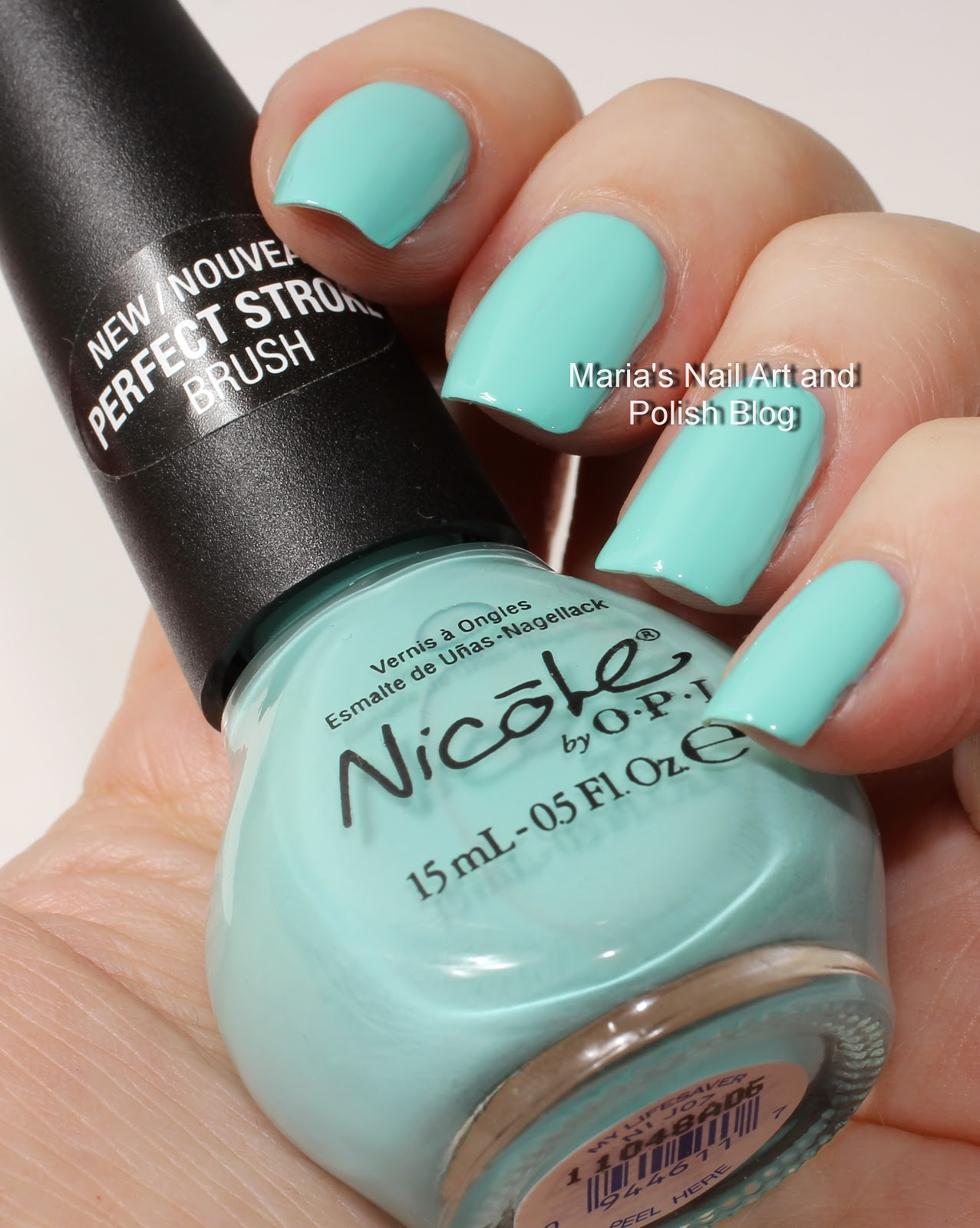 Marias Nail Art and Polish Blog: Nicole by OPI swatches: My ...