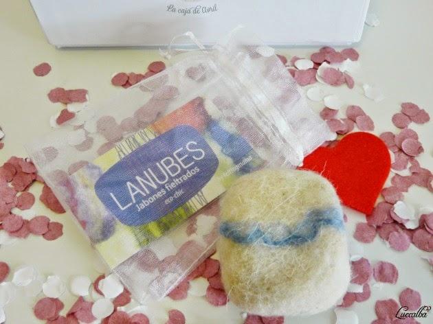 Jabón fieltrado Lanubes
