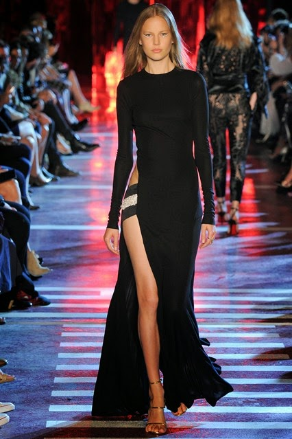 alexandre vauthier autumn winter 2014-2015 evening dress